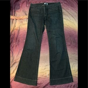 Ann Taylor Loft Trouser Flare Jeans